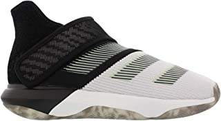 adidas 阿迪达斯儿童 Harden B-E 3 男孩篮球白色/发光*/灰色 Four 5 大童