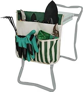 MioCloth 园艺凳悬挂袋花园凳跪器工具悬挂袋工具收纳袋园丁礼品长凳袋座椅收纳手提袋悬挂收纳袋户外花园工具袋