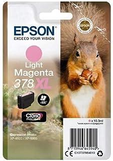 Epson爱普生原装墨盒 Light Magenta 378XL