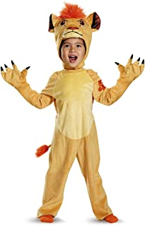 Kion Deluxe Toddler The Lion Guard Disney Costume-Golden Brown