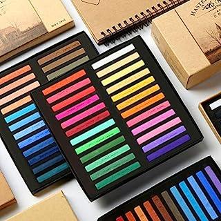 Xinzi 12/24/36/48 学生软粉笔颜色涂鸦绘画儿童礼品光滑蜡笔文具艺术用品(12 种颜色)
