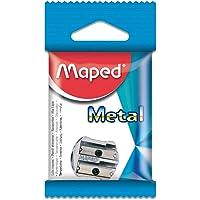 Maped Classic Metal Pencil Sharpeners, Grey