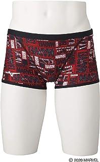 MIZUNO 美津浓 竞赛泳衣 训练用 训练装 N2MB0996 青少年 男孩 颜色:红色 尺寸:130 漫威 MARVEL