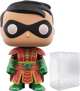 Funko POP! DC 英雄:蝙蝠侠动画系列 - 蝙蝠女 #154 乙烯树脂人偶(附带 Pop BOX 保护套)