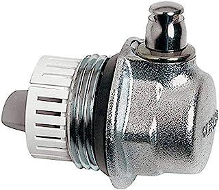 Caleffi aercal Tap 散热器阀,带通风口,2.54 厘米右侧 中号