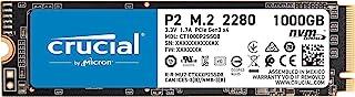 Crucial 英睿达 固态硬盘,P2 1TB 3D NAND NVMe PCIe M.2 SSD 高达 2400MB/s - CT1000P2SSD8