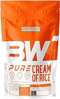 纯米霜 1 千克 - 无麸质燕麦替代品 - 盐焦糖   健身仓库