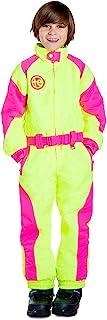 Tipsy Elves 青年中性款粉末喷雾黄色滑雪服 - 儿童防雪服