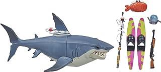 Hasbro 堡堡 Fortnite Victory Royale 系列*鲨鱼收藏可动公仔,带配件 - 8 岁及以上儿童,6 英寸(约 15.2 厘米)