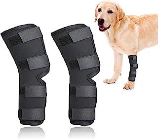 ROLLMOSS 犬用护膝,后腿*狗狗护膝,适用于撕裂 ACL 狗狗的护膝,保护狗狗*狗背部护腿,防止受伤和扭伤 帮助(S)