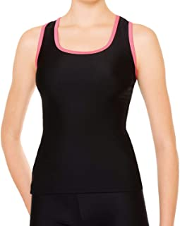 SASAKI 体操 青少年 女子/女士 练习用 Y型后背 长款 7042