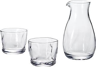 ADERIA *器套装 涂料 玻璃冷*器套装 可用洗碗机 日本制造 S-6203