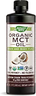 Nature's Way MCT椰子油,素食、不含麸质、无味、不含填充油、不含己烷,16盎司(480ml)