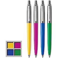 Parker 派克 Jotter Originals 系列圆珠笔,中号,黑色墨水,4支