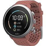 Suunto 3 - Gen.2 中性多功能手表,红色,不锈钢 / 聚酰胺,彩色显示屏,SS050475000