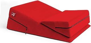 Liberator 红色超细纤维原创楔形斜面组合定位枕
