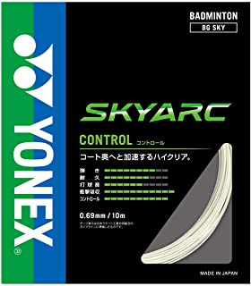 YONEX 尤尼克斯 羽毛球护具 天空船 白色 BGSKY
