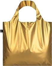 METALLIC,亚光金。 袋:LOQI BAG: 我体重 55 克 我可以承载20千克。 我防水。 我是聚酯