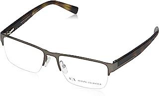 AX Armani Exchange 男士 Ax1018 金属矩形眼镜架