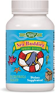Enzymatic Therapy - Sea Buddies Immune Defense - 60 Chewable Tablets