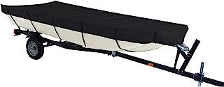 iCOVER Jon 船罩 - 防水重型可拖载 Jon 船罩,适合 Jon Boat 12 英尺 - 10 英尺长,光束宽度可达 75 英寸