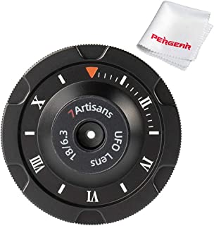 7artisans 18 毫米 F6.3 超薄 APS-C Prime 镜头兼容索尼紧凑型无反光相机 A7 A7II A7III (A7M3) A7R A7RIII A7S A7SIII A6000 A6300