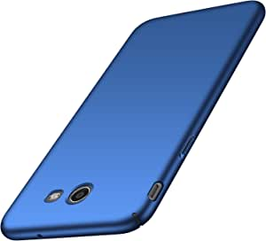 Avalri Galaxy J7 2017 手机壳,J7 Prime,J7 Sky Pro,J7 Perx 手机壳,超薄防指纹极简硬 PC 保护套三星 Galaxy J7 V 2017 Silky Blue