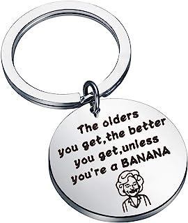 KUIYAI 金色女孩钥匙扣金色女孩灵感礼品金女孩粉丝礼物感谢送给朋友的礼物