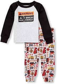 The Children's Place 男婴长袖睡衣套装 2 件套