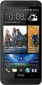 HTC One M7 无锁 GSM 4G LTE 四核智能手机,带节拍音频 - 黑色