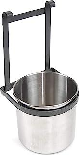 Emuca – 厨房餐具架,镀铬餐具架,适用于悬挂,钢,煤灰色