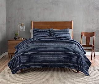 Pendleton Ryer 条纹被子,多色,大号双人床款