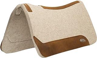 "Weaver Leather 35-2712-1 波状羊毛混纺马鞍垫,1"",棕褐色"