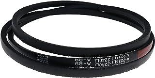 DVPARTS 割草机甲板带 Kevlar GX20006 兼容 JD L105 L107 L108 L110 L11 L118 L120 L130 L2048 D110 D120 D130 D140 D150 D160 D170 LA110 ...