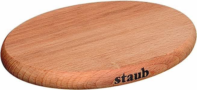 Staub 珐宝 木质磁性锅垫 29cm