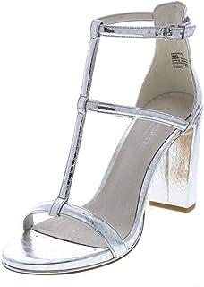 Kenneth Cole New York Deandra 金属皮革踝带鞋跟 - 女式
