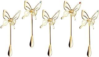 高桑金属 蝴蝶龙头 金色 5个装