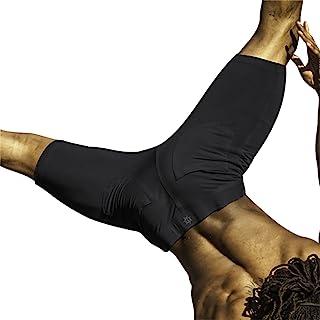 Bhujang Style 男士高腰短裤适合瑜伽、跑步和锻炼