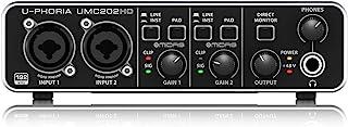 Behringer 百灵达 U-PHORIA UMC202HD 24 位/192 kHz USB 音频接口