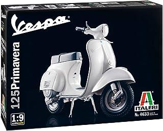 意大利 1/9 贝斯帕 125 普利马贝拉 附带日语说明书 塑料模型 IT4633