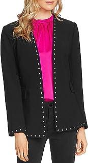 Vince Camuto 女式铆钉弹力绉绸外套