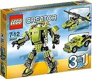 LEGO 乐高 创意百变组  百变动力机器人 31007