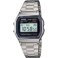 Men's Casio Digital Bracelet Watch - Silver A158W-1 TRG