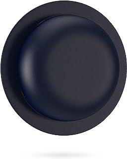 POPCLA 航空标签硅胶保护套,粘性保护套防刮贴纸支架,适用于钱包袋自行车户外配件,*蓝