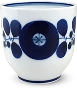 白山陶器 Bloom 瓷器 蓝色 230ml HAKUSAN