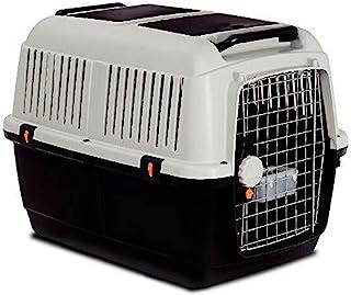 MP Bergamo Iata 4 猫咪运输篮,白色/黑色