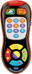 VTech 伟易达 Click and Count 遥控器,黑色
