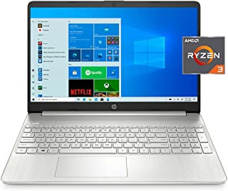 HP 惠普 15-ef1300wm 15.6 英寸 FHD,Ryzen 3-3250,4GB RAM,128GB SSD,银色,Windows 10 S