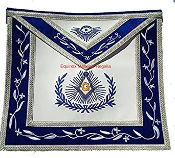 Masonic Equinox MR Master Mason Dress Apron For Blue Lodge Freemasons Regalia