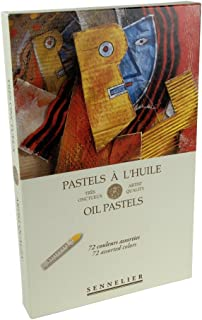 Sennelier 油蜡笔组合套装 72 色